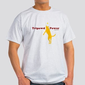 Tripawd Power Light T-Shirt