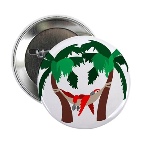 Macaw in Palms Button