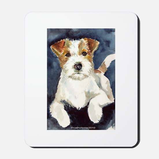 Jack Russell Terrier 2 Mousepad