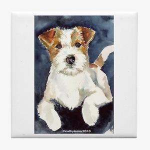 Jack Russell Terrier 2 Tile Coaster