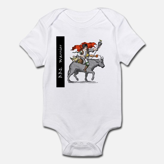 BBQ Warrior Infant Bodysuit