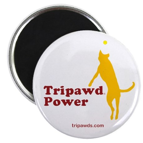"""Tripawd Power 2.25"""" Magnet (10 pack)"""