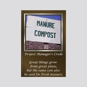 Project Managers Rectangle Magnet