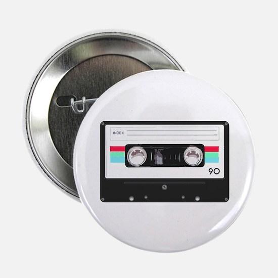 "Cassette tape 2.25"" Button"