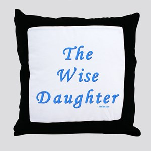 The Wise Daughter Passover Throw Pillow