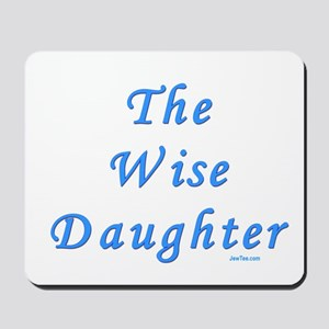 The Wise Daughter Passover Mousepad