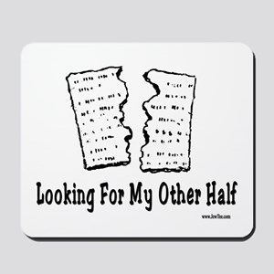 My Other Half Passover Mousepad