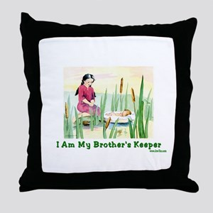 My Brother's Keeper Passover Throw Pillow