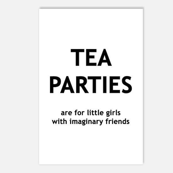 Tea Parties Postcards (Package of 8)