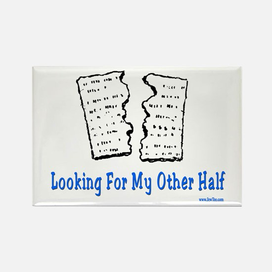 My Other Half Passover Rectangle Magnet