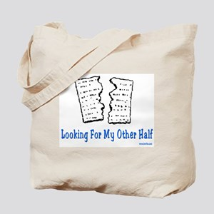 My Other Half Passover Tote Bag