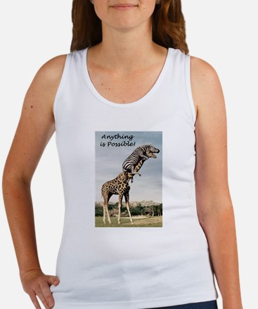 Anything is possible Women's Tank Top