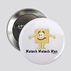 "Matzoh Man Passover 2.25"" Button"