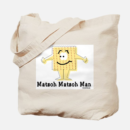 Matzoh Man Passover Tote Bag