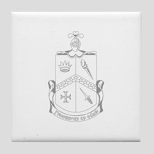Alpha Delta Gamma Tile Coaster