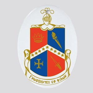 Alpha Delta Gamma Ornament (Oval)