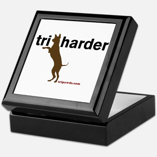 Tri Harder Keepsake Box