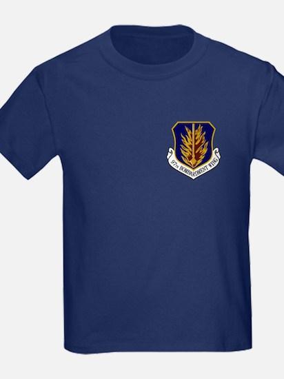 97th Bomb Wing Kid's T-Shirt (Dark)