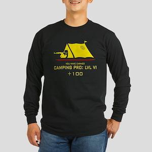 Camping Pro: LVL VI Long Sleeve Dark T-Shirt