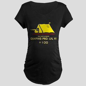 Camping Pro: LVL VI Maternity Dark T-Shirt