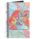 Multicolor Oak Leaf Art Journal