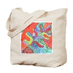 Multicolor Oak Leaf Art Tote Bag