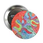 Multicolor Oak Leaf Art 2.25