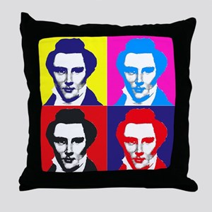 Joseph Smith Pop Art Throw Pillow