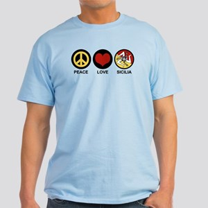 Peace Love Sicilia Light T-Shirt