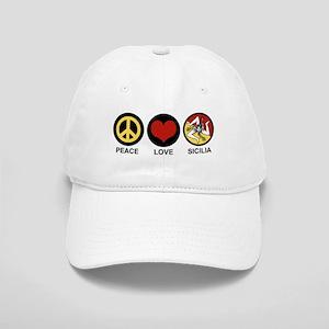 Peace Love Sicilia Cap