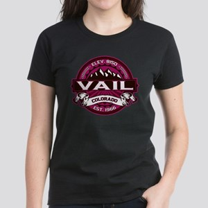 Vail Raspberry Women's Dark T-Shirt
