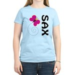 Fun Sax Butterfly Women's Light T-Shirt