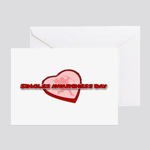 Singles Awareness Day Greeting Cards (Pk of 10