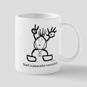Start a peaceful revolution. Mug