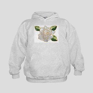 White Rose Kids Hoodie