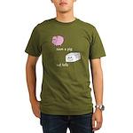 Save a Pig Eat Tofu Organic Men's T-Shirt (dark)