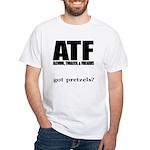 ATF White T-Shirt