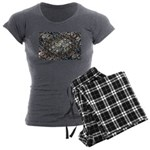 Economic Art Women's Charcoal Pajamas