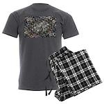Economic Art Men's Charcoal Pajamas