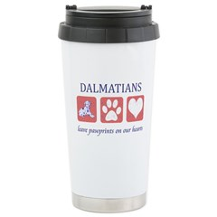 Dalmatian Lover Gifts Stainless Steel Travel Mug