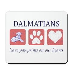 Dalmatian Lover Gifts Mousepad