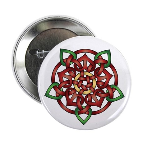 "Celtic Rose 2.25"" Button (10 pack)"