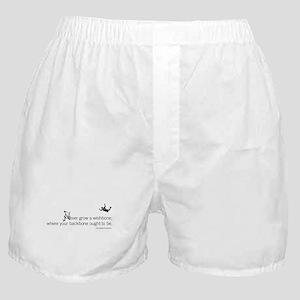 Never grow a wishbone Boxer Shorts