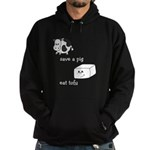 Save a Cow Eat Tofu Hoodie (dark)