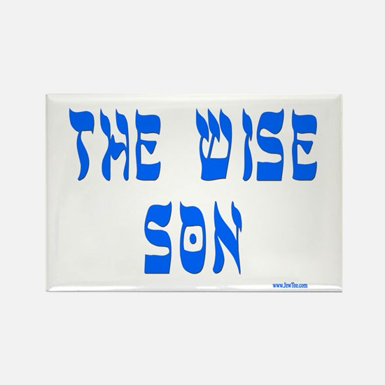 The Wise Son Passover Rectangle Magnet