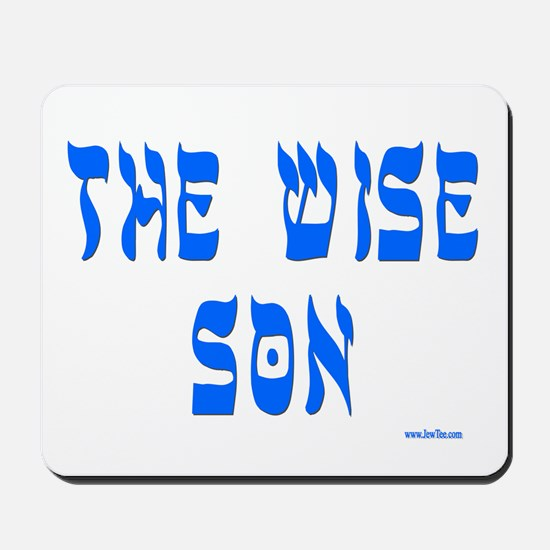 The Wise Son Passover Mousepad