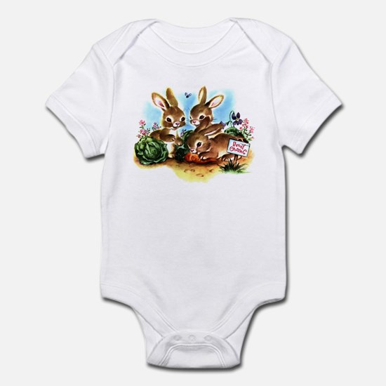 Bunny Patch Infant Bodysuit