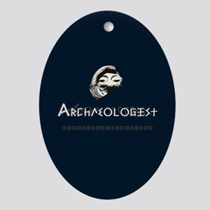 Archaeologist Ornament (Oval)