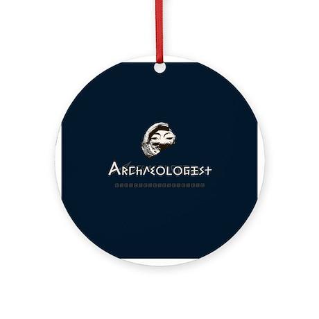 Archaeologist Ornament (Round)