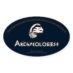 Archaeologist Sticker (Oval 50 pk)